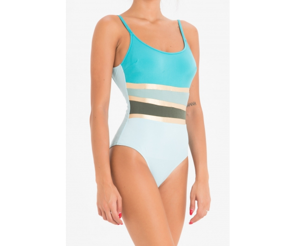 SWIMSUIT COUTURE LIGHT BLUE