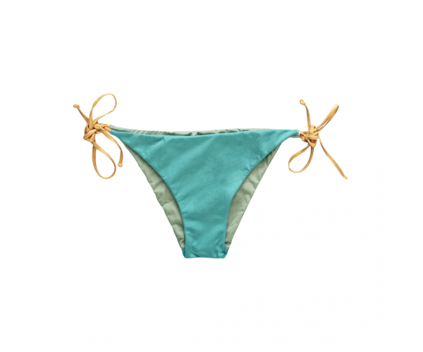 BOTTOM WITH LACES COUTURE LIGHT BLUE