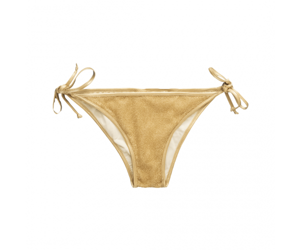 BOTTOM WITH LACES LUREX GOLD